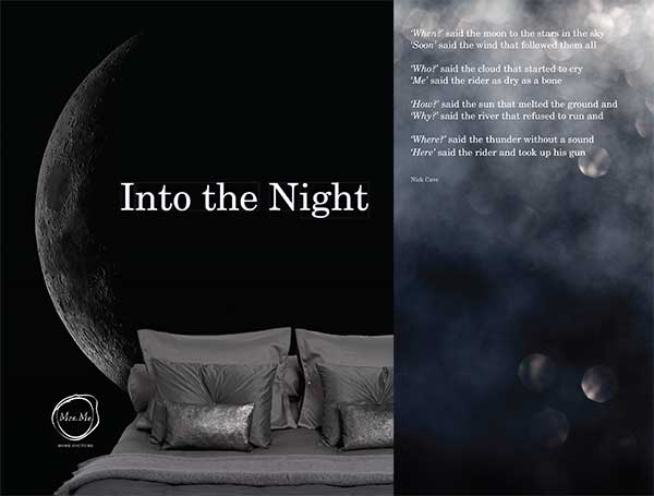 Mrs.Me  Into The Night brochure