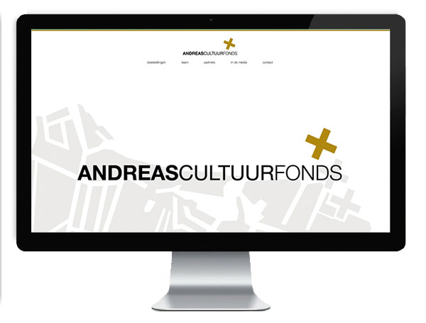 Andreas Cultuur Fonds Website