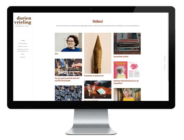 Dorien Vrieling website